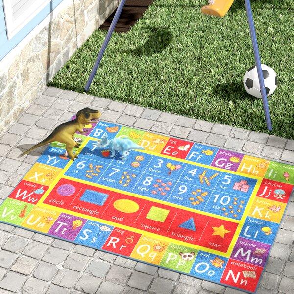 Pierce Multicolor Indoor/Outdoor Area Rug by Zoomie Kids Zoomie Kids