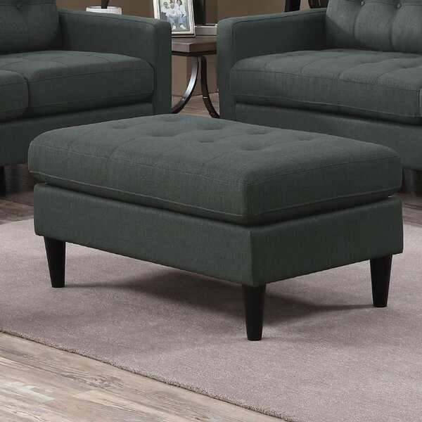 Bottoms Transitional Tufted Storage Ottoman by George Oliver