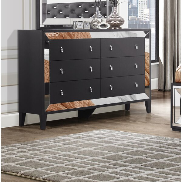 Cecile 6 Drawer Dresser by Everly Quinn