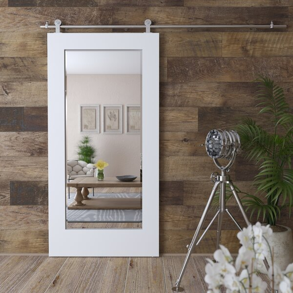Jakeman Barn Door Full Length Mirror by Gracie Oaks