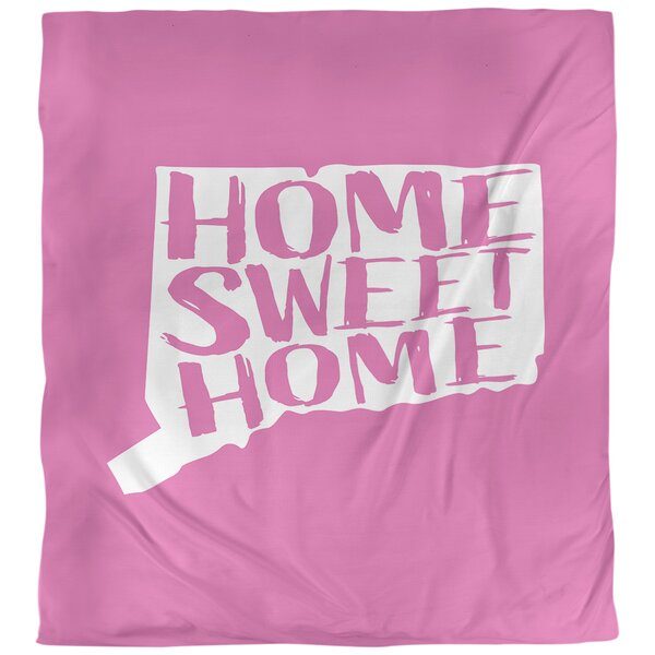 Home Sweet Connecticut Duvet Cover