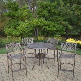 Mississippi 5 Piece Bar Height Dining Set By Oakland Living
