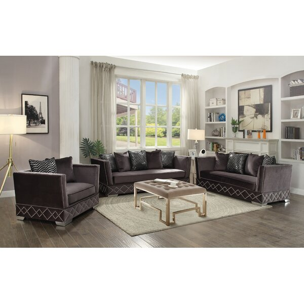 Stanford Configurable Sofa Set by Everly Quinn