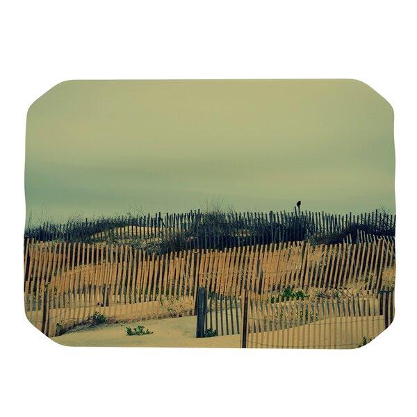 Carova Dunes Placemat by KESS InHouse