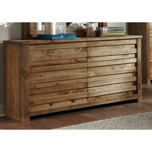 Georgio 6 Drawer Double Dresser By World Menagerie by World Menagerie Top Reviews