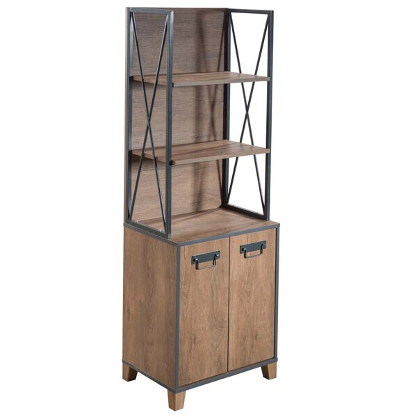 Augie Vintage Standard Bookcase by Gracie Oaks