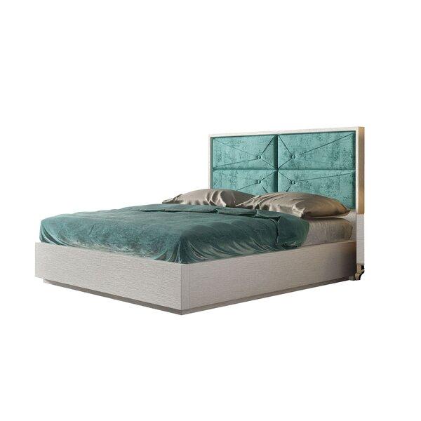 Jerri Upholstered Standard Bed by Everly Quinn Everly Quinn