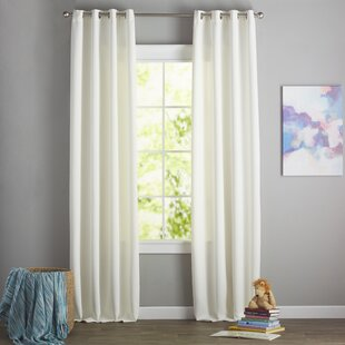 Modern Contemporary White Curtains Drapes Youll Love