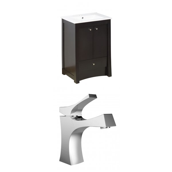 Kimbrell Floor Mount 24 Single Bathroom Vanity Set by Royal Purple Bath Kitchen