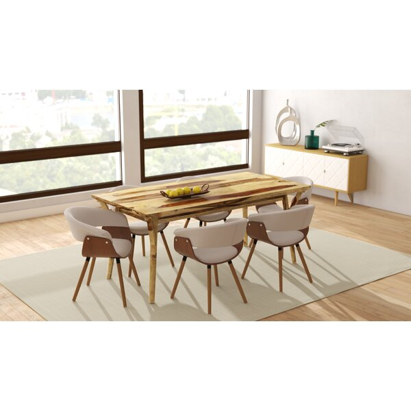 Chison 7 Piece Solid Wood Dining Set by Corrigan Studio