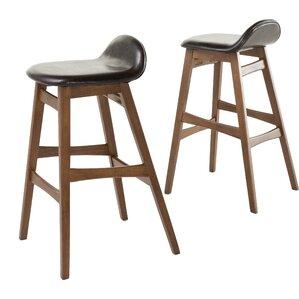 Adriana 30  Bar Stool (Set ...  sc 1 st  Wayfair & Mid-Century Modern Bar Stools Youu0027ll Love | Wayfair islam-shia.org