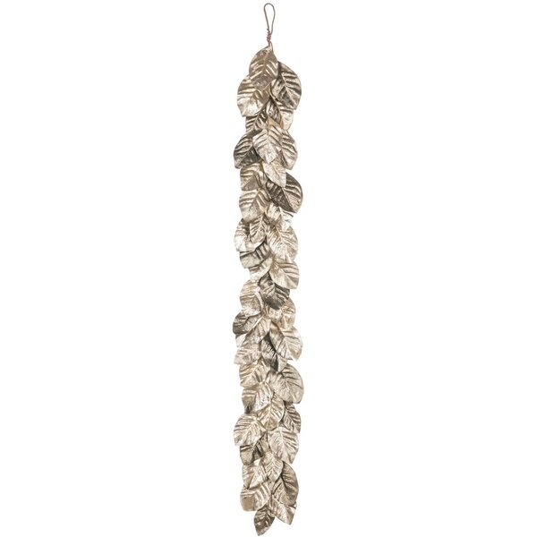Pewter Magnolia Leaf Garland by The Holiday Aisle