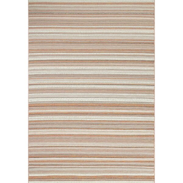 Kopp Orange/Beige Indoor/Outdoor Area Rug