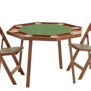 Compact Folding Poker Table