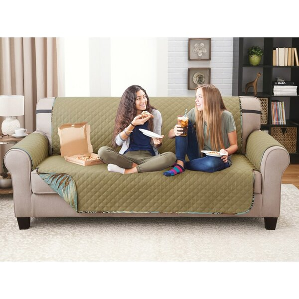 Printed T-Cushion Sofa Slipcover by Bay Isle Home