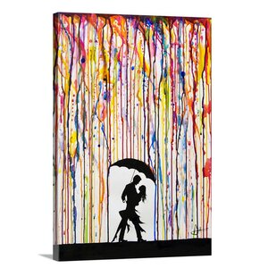 'Tempest' Graphic Art on Wrapped Canvas by Zipcode Design