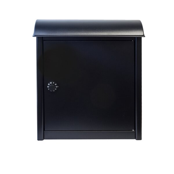 Winfield Leece Locking Wall Mounted Mailbox by Qualarc