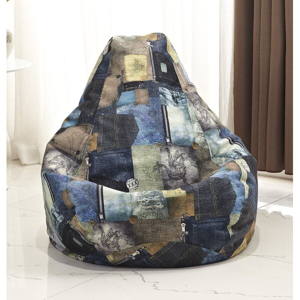 Print Bean Bag Chair by Latitude Run