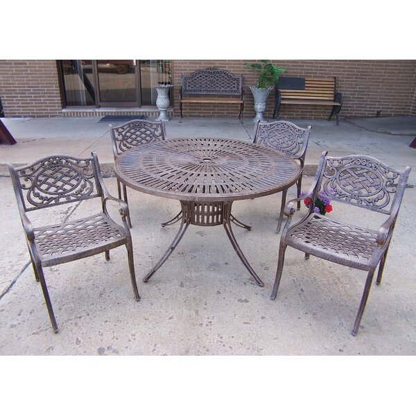 Sunray Mississippi 5 Piece Dining Set by Oakland Living