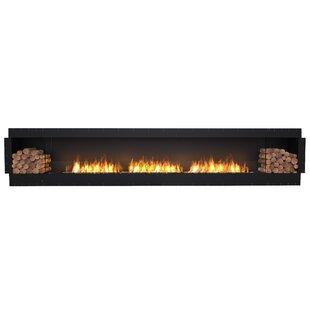 FLEX158 Single Sided Wall Mounted Bio-Ethanol Fireplace Insert  by EcoSmart Fire