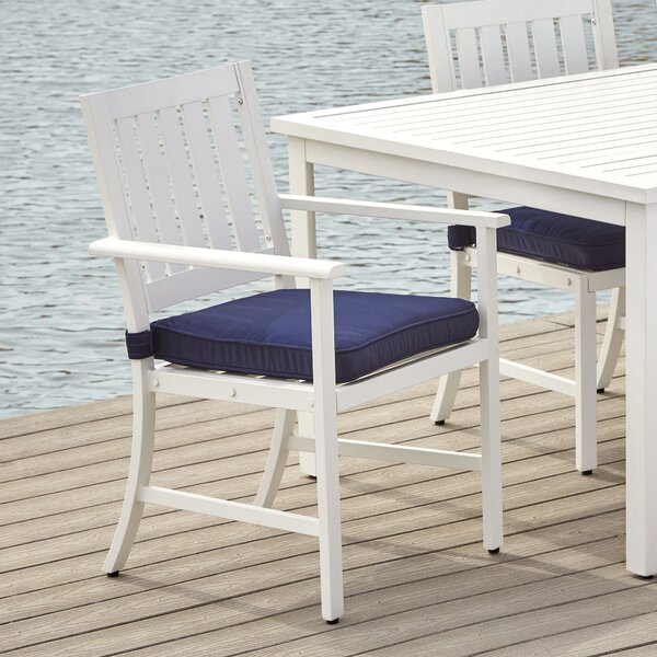 Barbera Arm Chair with Cushions by Longshore Tides