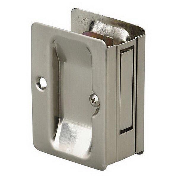 Rectangular Pocket Door Pull with Passage Lock by Richelieu