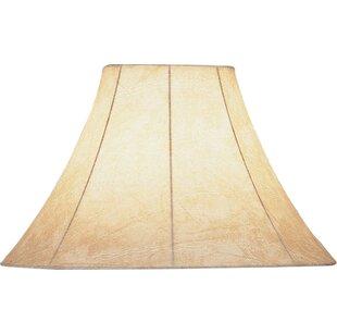 Lamp shades joss main faux leather bell lamp shade aloadofball Choice Image