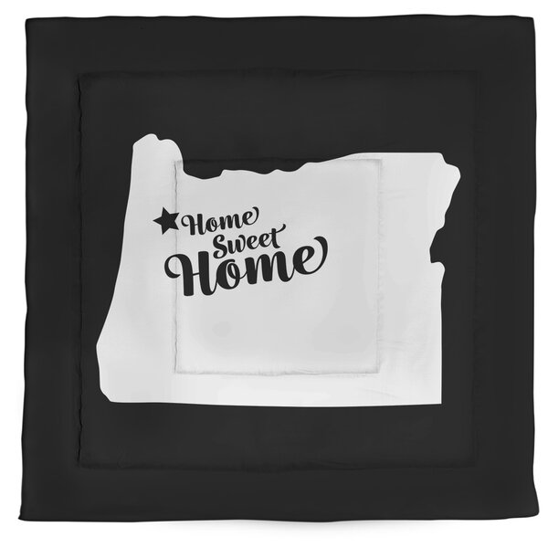 Salem Home Sweet Single Reversible Comforter