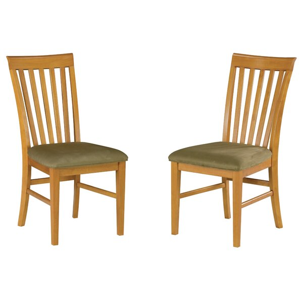 Vadlamudi Solid Wood Dining Chair (Set of 2) by Red Barrel Studio