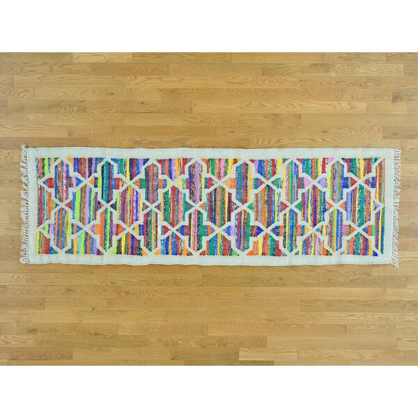 One-of-a-Kind Beatrix Handmade Kilim Cotton/Silk Area Rug by Isabelline