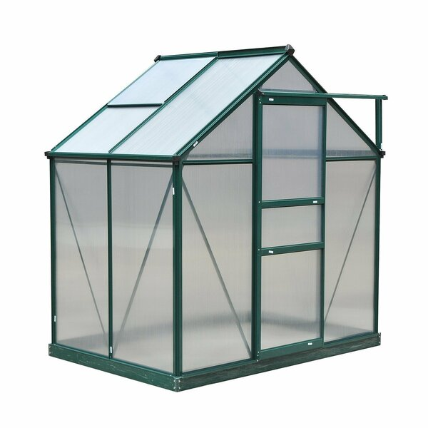 4 Ft. W x 6 Ft. D Greenhouse by Outsunny