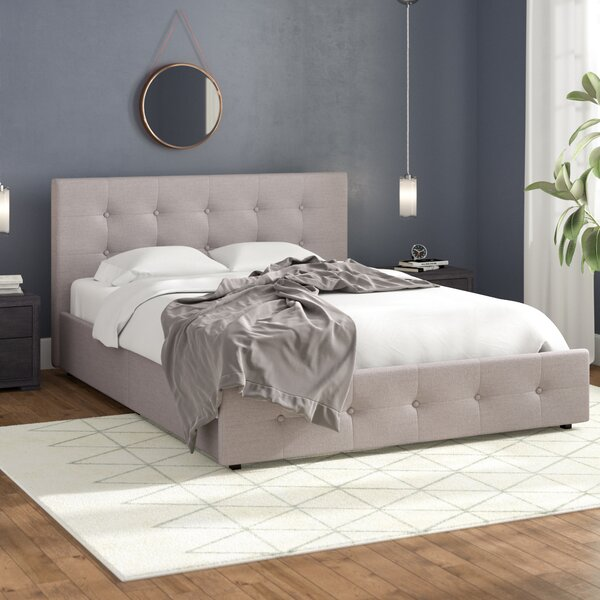 Houchins Upholstered Storage Platform Bed by Winston Porter