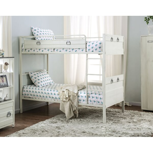 Krug Twin over Twin Bunk Bed by Harriet Bee