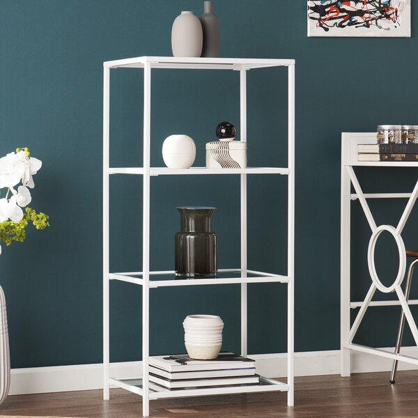 Orenstein 4-Tier Etagere Bookcase by Ebern Designs