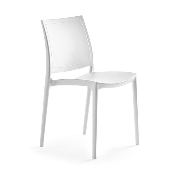 Pavonis Plastic Side Chair (Set Of 2) By Ebern Designs