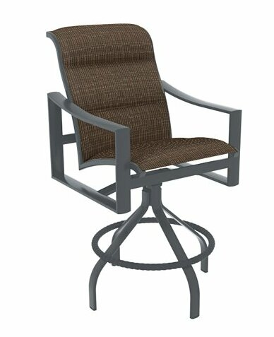 Kenzo 25 Patio Bar Stool with Cushion by Tropitone