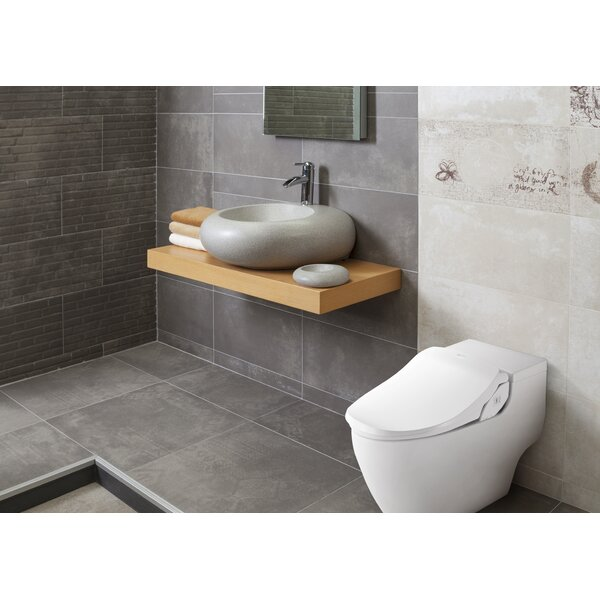 Slim Two Toilet Seat Bidet by Bio Bidet