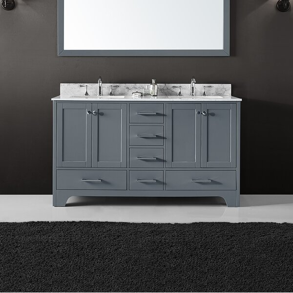 Cassel 60 Double Bathroom Vanity Set