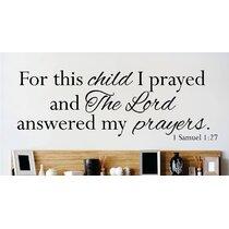 Bible Verse Wall Decals Wayfair