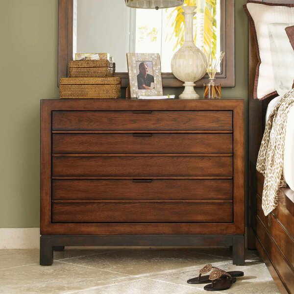 Ocean Club 3 Drawer Bachelors Chest by Tommy Bahama Home