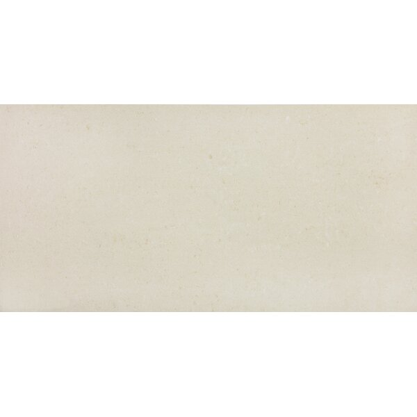 12 x 12 Porcelain Field Tile in Matte Vanilla by Parvatile