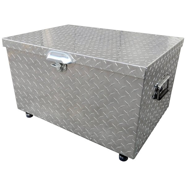 60 Qt. Diamond Plated Country Cooler by Leigh Coun