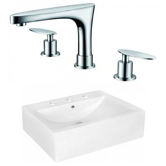 Duravit Darling New Ceramic 33 Wall Mount Bathroom Sink With Overflow Reviews