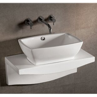 Isabella Rectangular Vessel Bathroom Sink with Overflow ByWhitehaus Collection