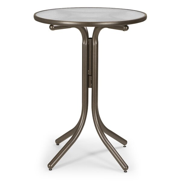 Obscure Acrylic Round Bar Table by Telescope Casual