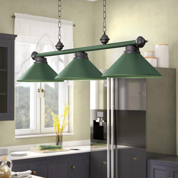 Harpersfield 3-Light Metal Billiards Light by Laurel Foundry Modern Farmhouse