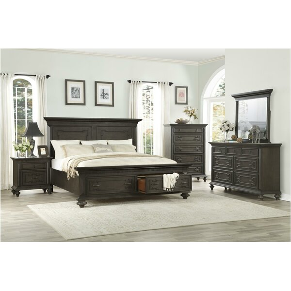 Dianna Platform Configurable Bedroom Set by Charlton Home