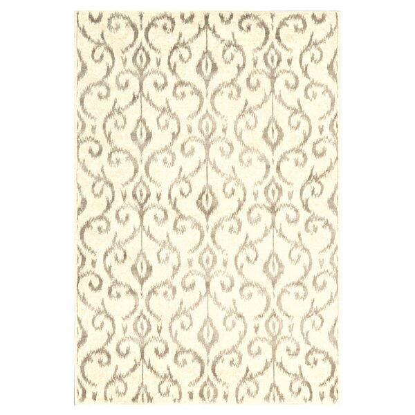 Eagleview Cream Area Rug by Alcott Hill