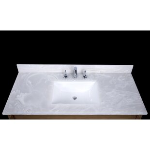 Sink On Top Of Vanity. Asolo 49  Single Bathroom Vanity Top Tops You ll Love Wayfair