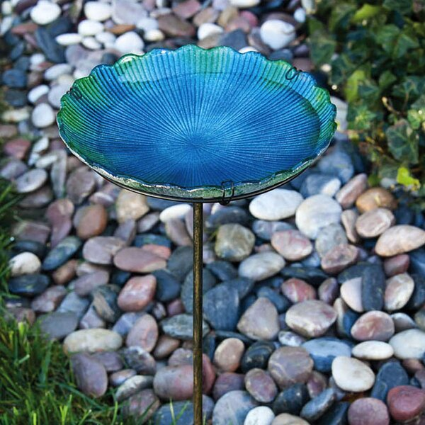 Sea Birdbath by Evergreen Flag & Garden